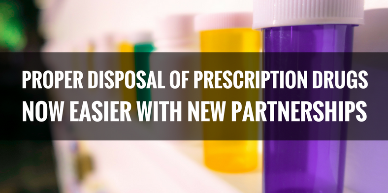 Proper Disposal of Prescription Drugs Now Easier With New Partnerships