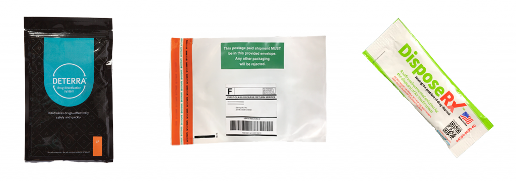 ETXRx Disposal Pouches