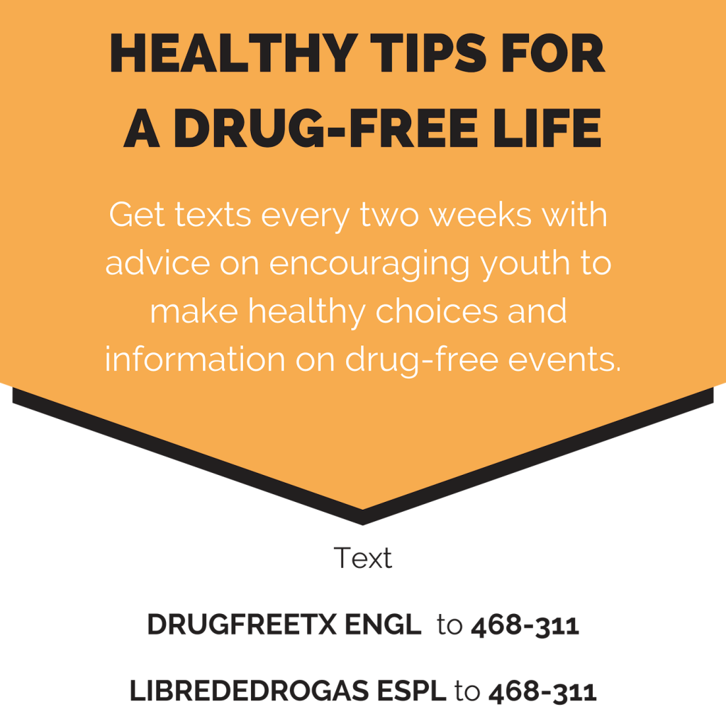 East Texas Rx - Text Campaign prescription drug abuse prevention